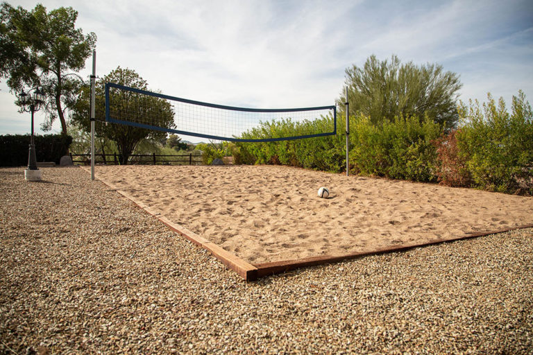 Gentle Path at The Meadows - Volleyball court